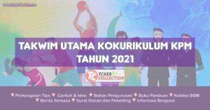 Takwim Kokurikulum 2021 KPM